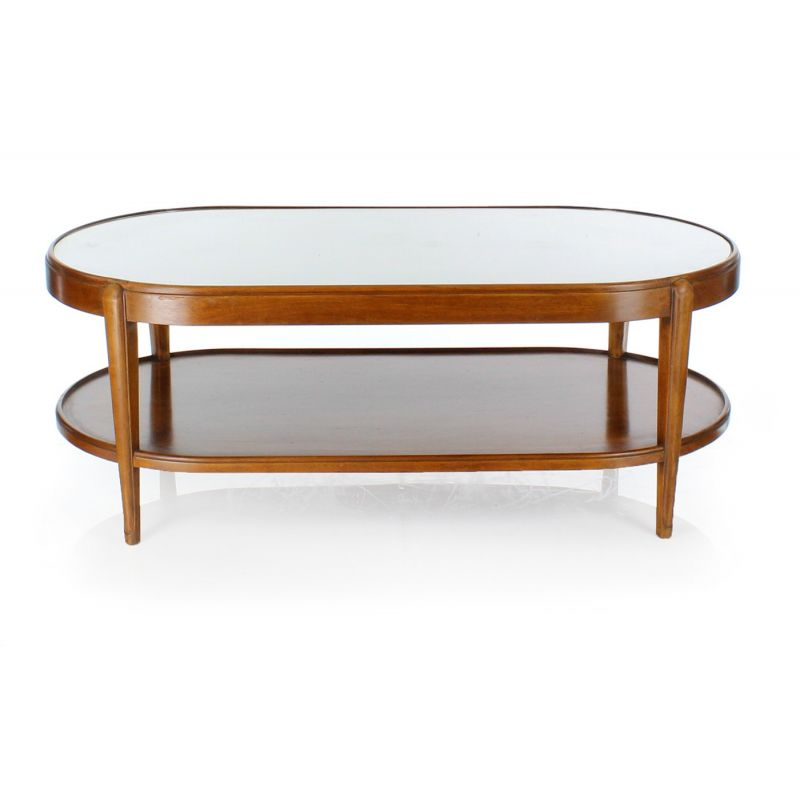 Table basse ovale tulipe for Table basse tulipe