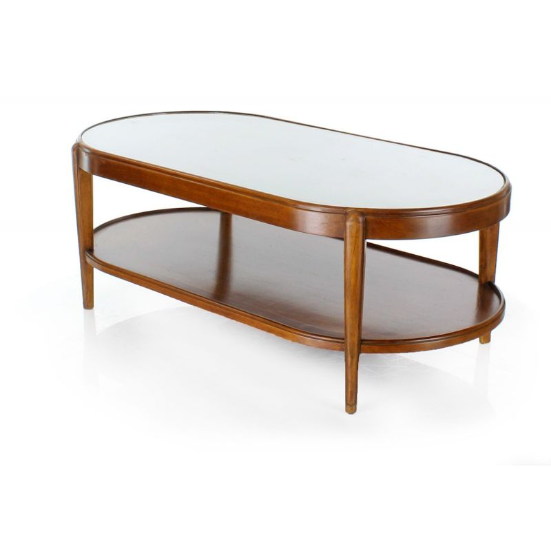 Table basse ovale charleston ebay - Table basse ovale blanche ...
