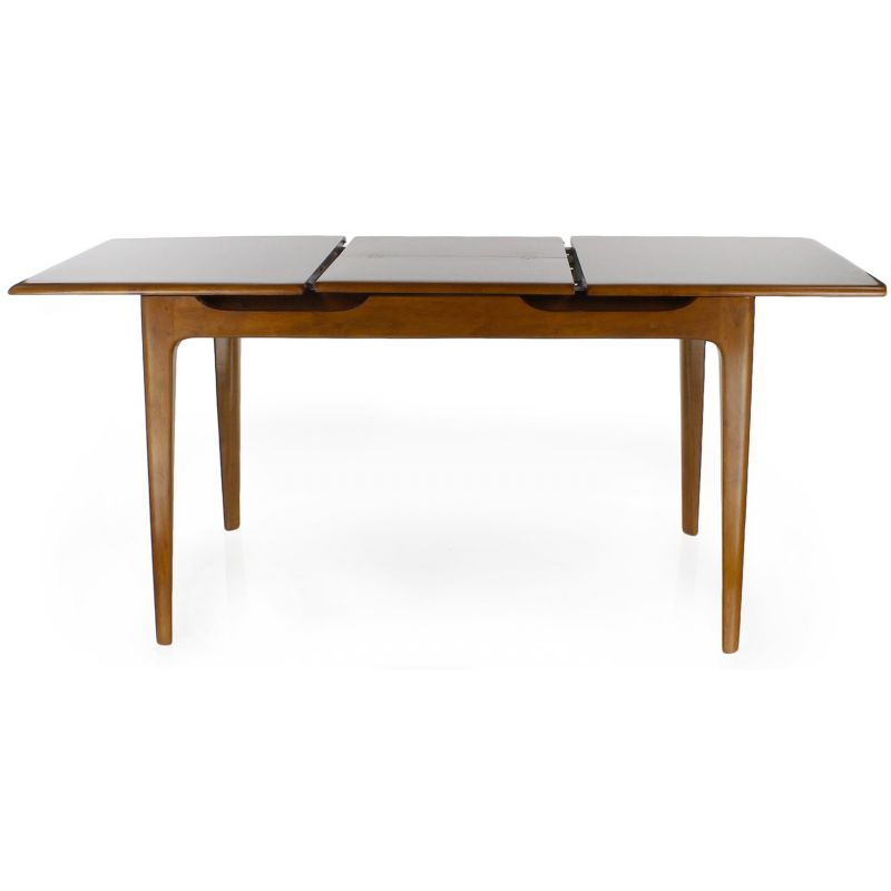 Table rallonges en bois massif saulaie - Table rallonge design ...