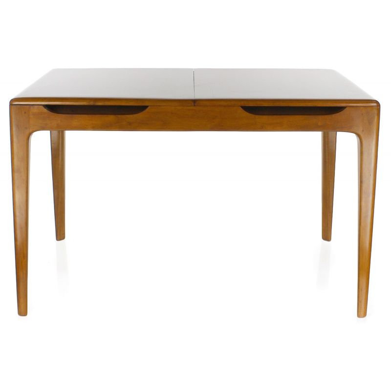 Table a manger avec rallonge integree maison design Table rallonge design