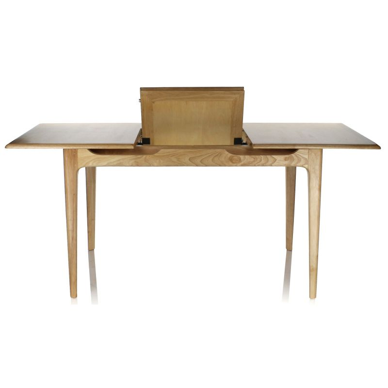 Table de salle manger rectangulaire rallonge lund for Table salle a manger solde