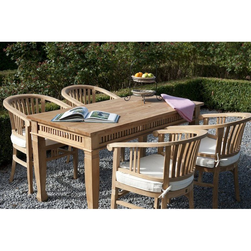 Beautiful table de jardin en bois weldom photos awesome for Table weldom