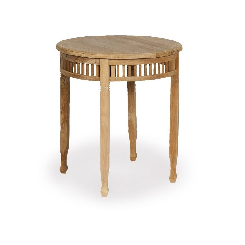 Table de jardin ronde en bois d coration de maison for Table ronde en bois exterieur