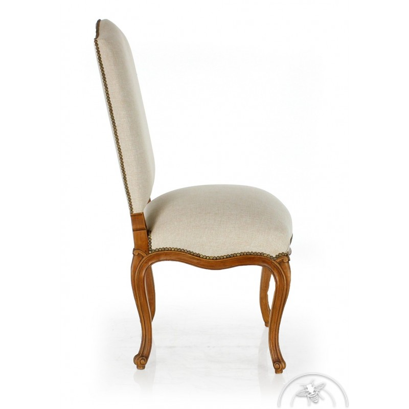 chaise ancienne blanche