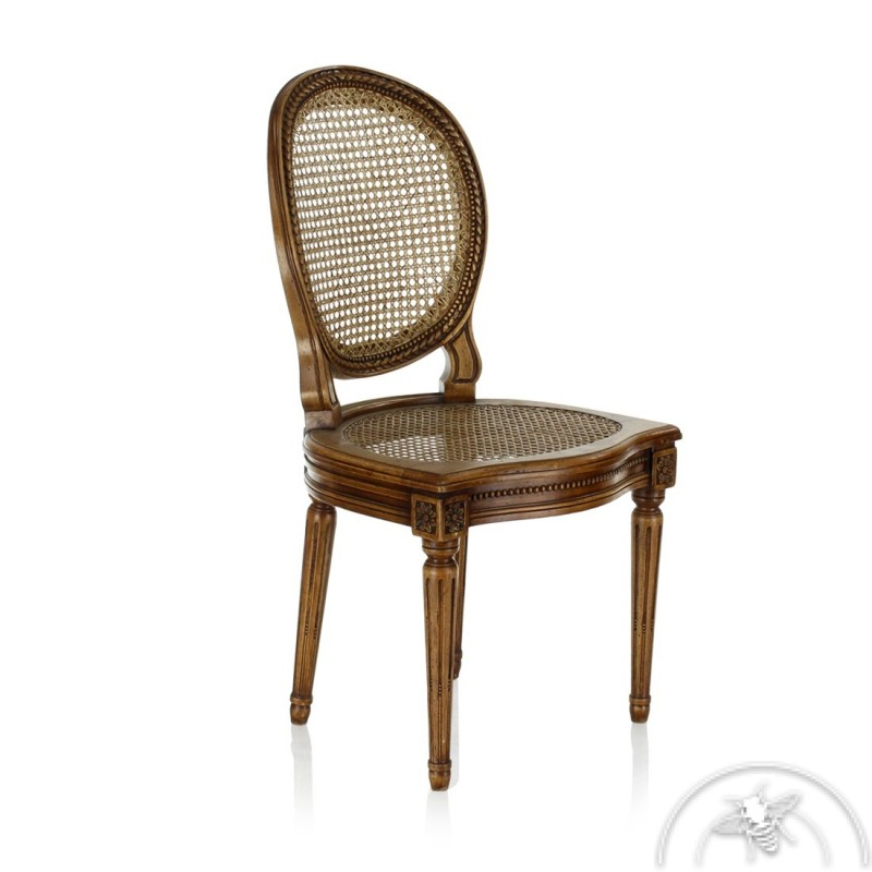 chaise cannee louis XVI