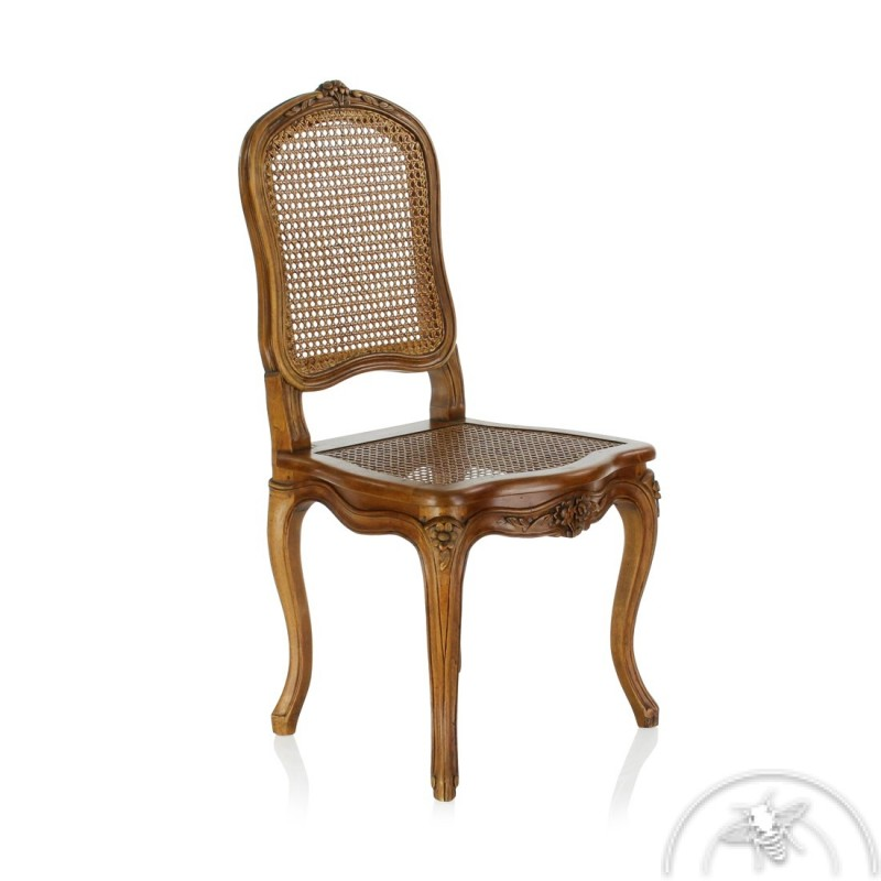 chaise ancienne a dossier plat