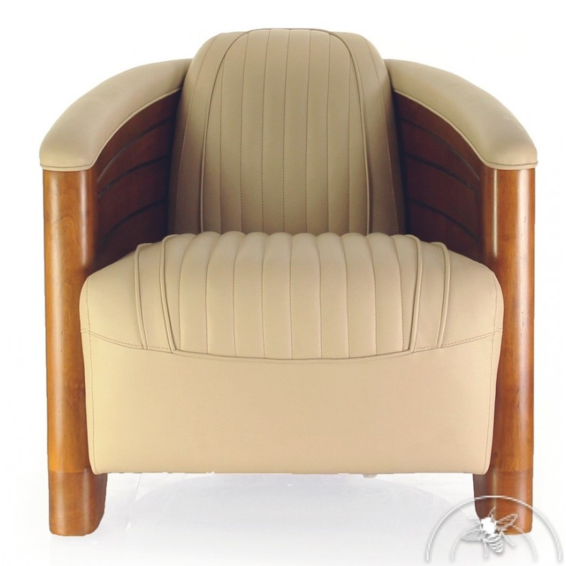 fauteuil club pirogue