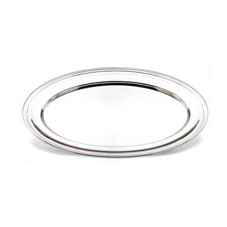 Oval Silver-Plated Serving Platter