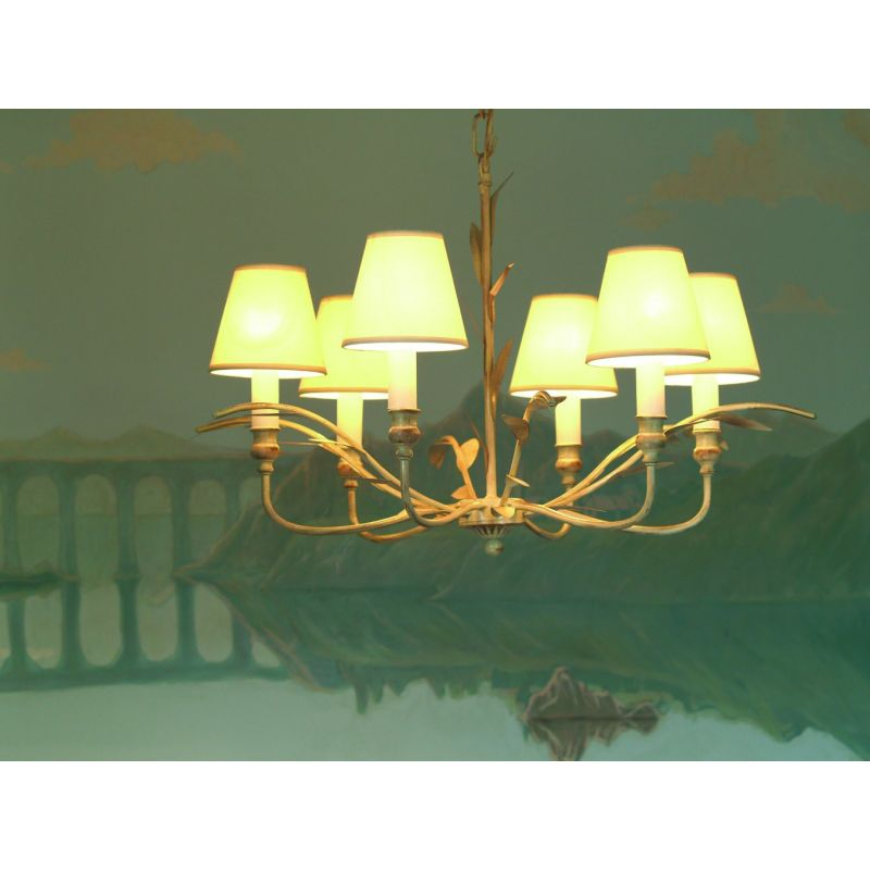 6 lamp suspended ceiling light - Marion