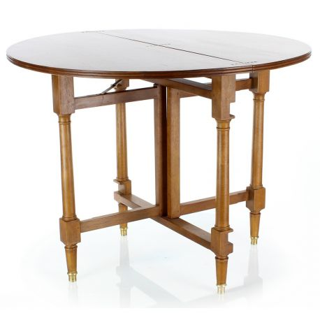 Vente table pliante directoire for Table salle a manger pliante