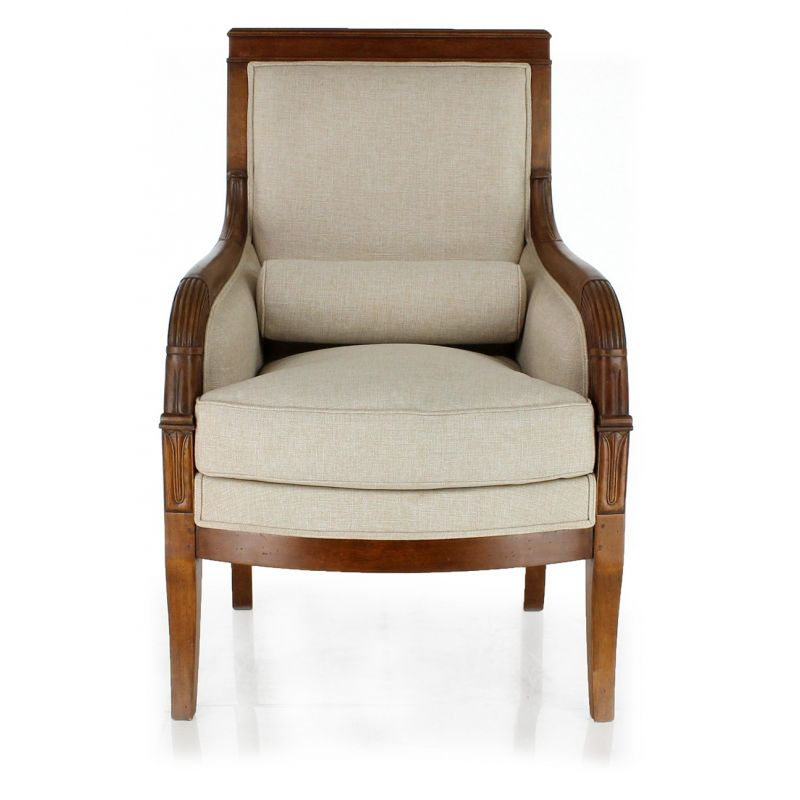 Fauteuil berg re restauration saulaie - Fauteuil style bergere ...