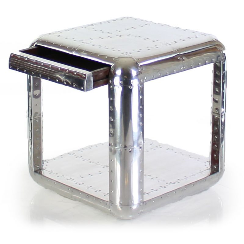 Aluminium end table - Baron