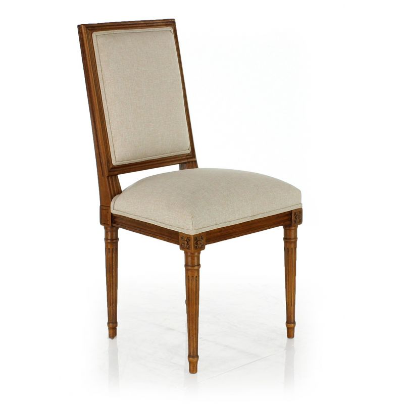 Louis XVI chair beige fabric - Trianon