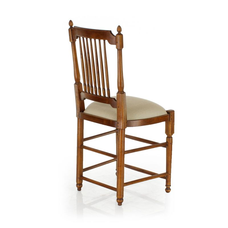 Louis XVI chair, wood and fabric