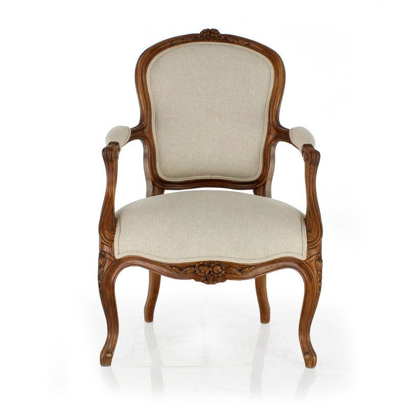 Louis xv armchair st dominic saulaie for Chaise louis xv