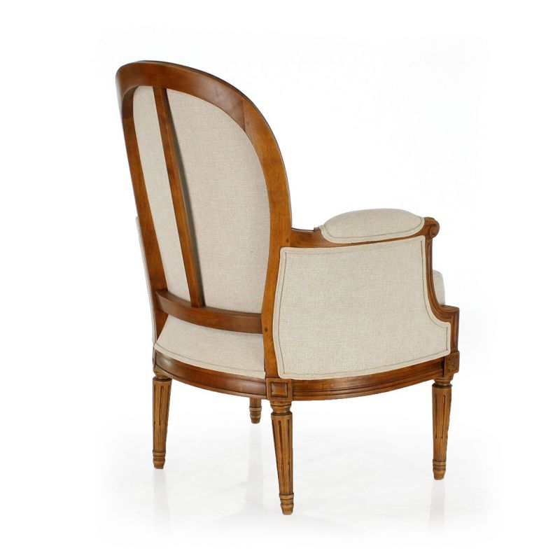 great bergre armchair louis xvi molded with bergere maison ...