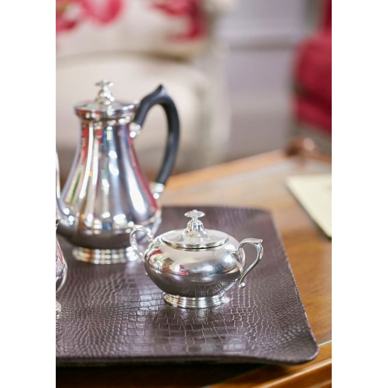 Pewterware tea and coffee service - Oxford