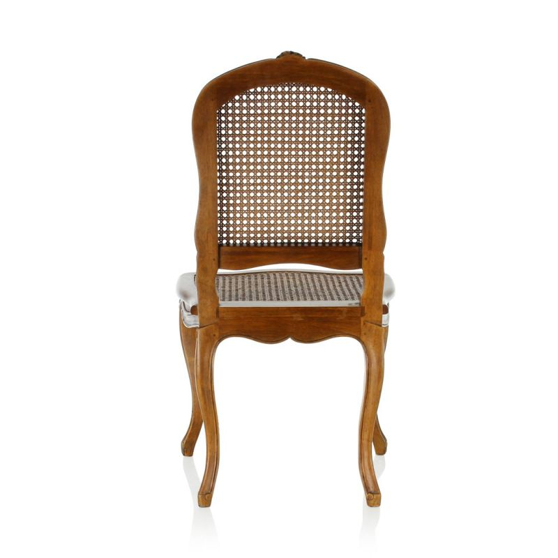 Louis XV caned chair