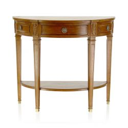 Half-moon Directoire console table