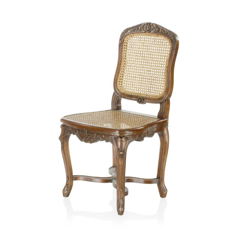 Louis XV cane chair - Le Clery