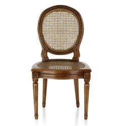 Louis XVI chair caned - Monceau