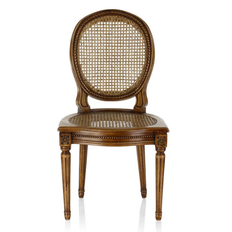 Louis XVI Chair Caned   Monceau