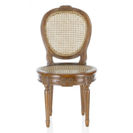 Louis XVI cane chair - Savenay