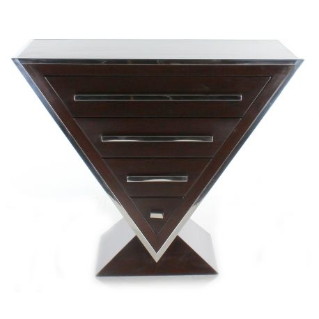 Design chest of drawers in wood - Delta
