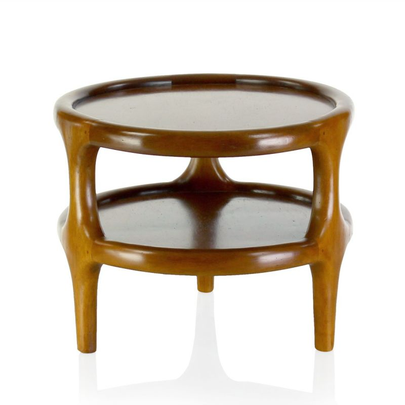 Petite table d 39 appoint scandinave lund saulaie for Table appoint scandinave