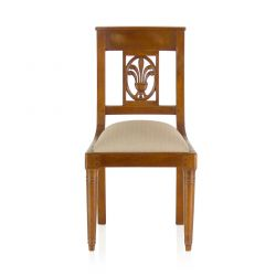 Wooden openwork children's chair - Palmette