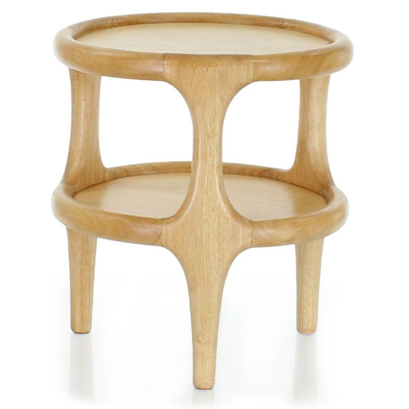Natural wood occasional table - Lund