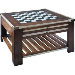Low games table with squares - La Fayette