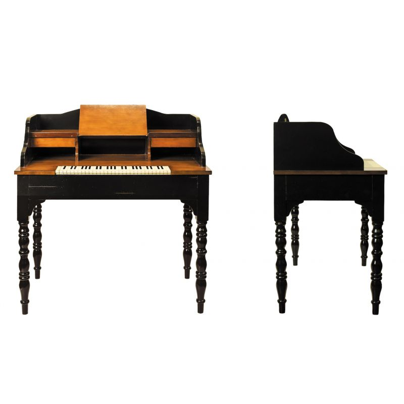 bureau secr taire de musique en bois bach saulaie. Black Bedroom Furniture Sets. Home Design Ideas