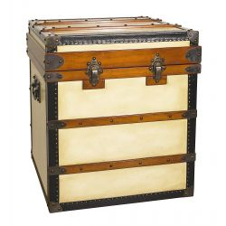 Sofa end table or tall storage chest - La Fayette