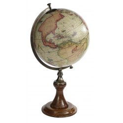 Globes terrestre, projection Mercator - Magellan