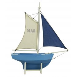 Blue children's sailing boat MA8 - Magellan