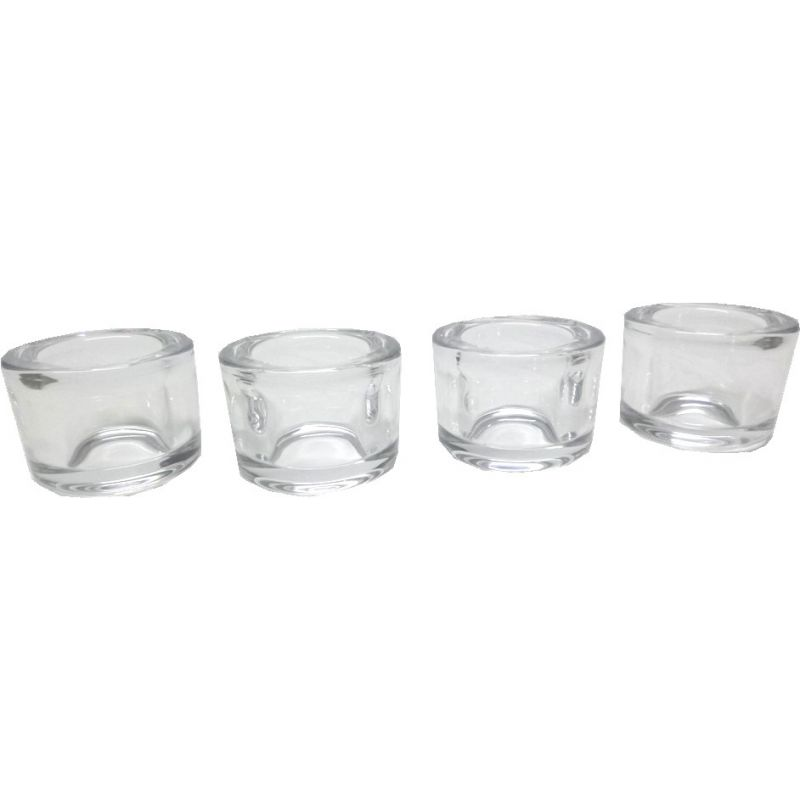 Round Photophores, Set of 4