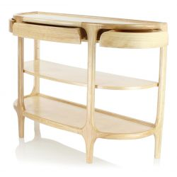 Console table with shelving - Lund