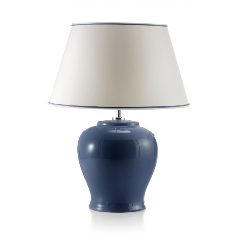 Blue curved lamp, Immanence
