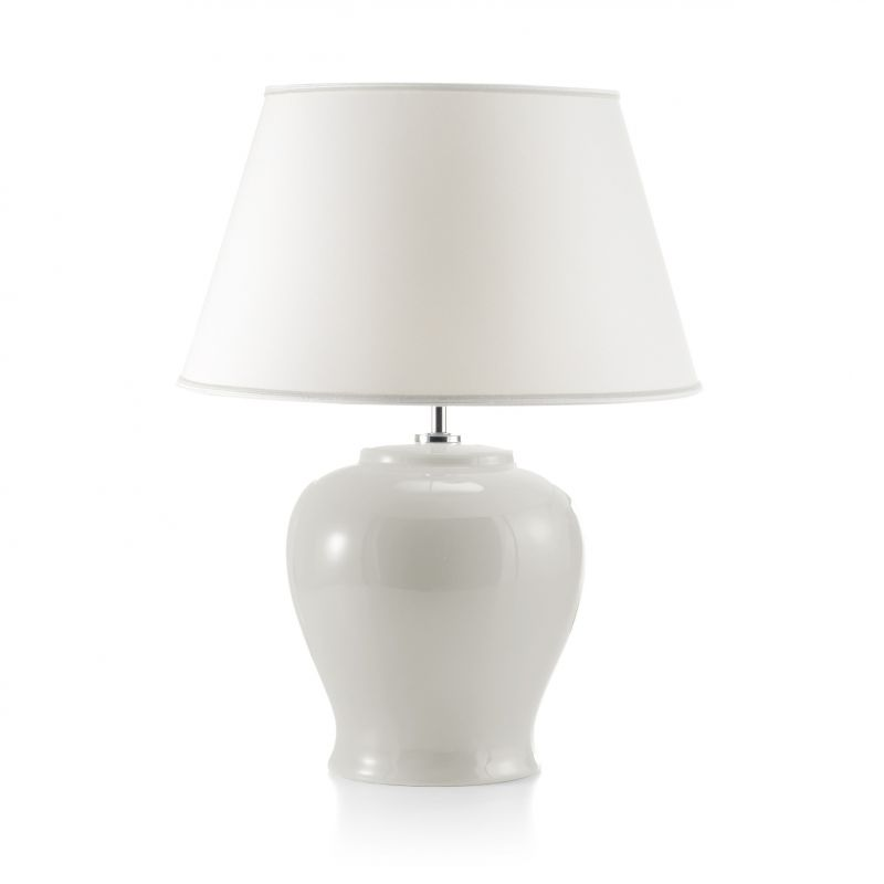 Curved white lamp, Immanence