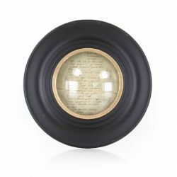 Round photograph frame