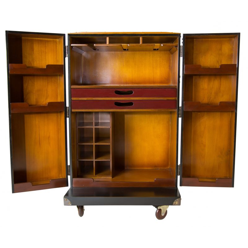 bar trunk furniture. drinks cabinet mobile bar cabin trunk lafayette furniture a