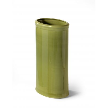 Oval green umbrella stand - Immanence