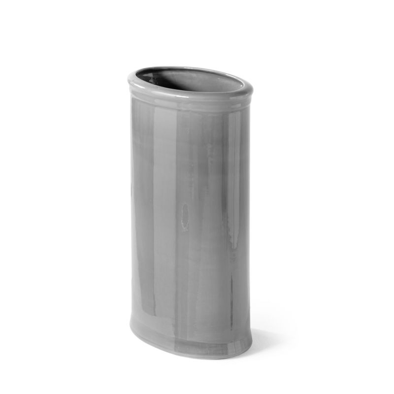 Oval grey umbrella stand Immanence