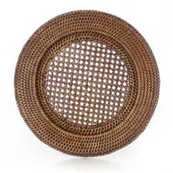 Wicker charger (service plate)