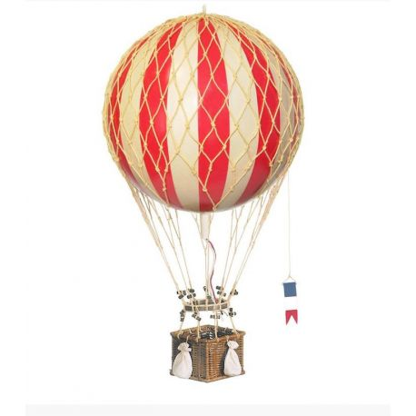 Red hot-air balloon to hang up