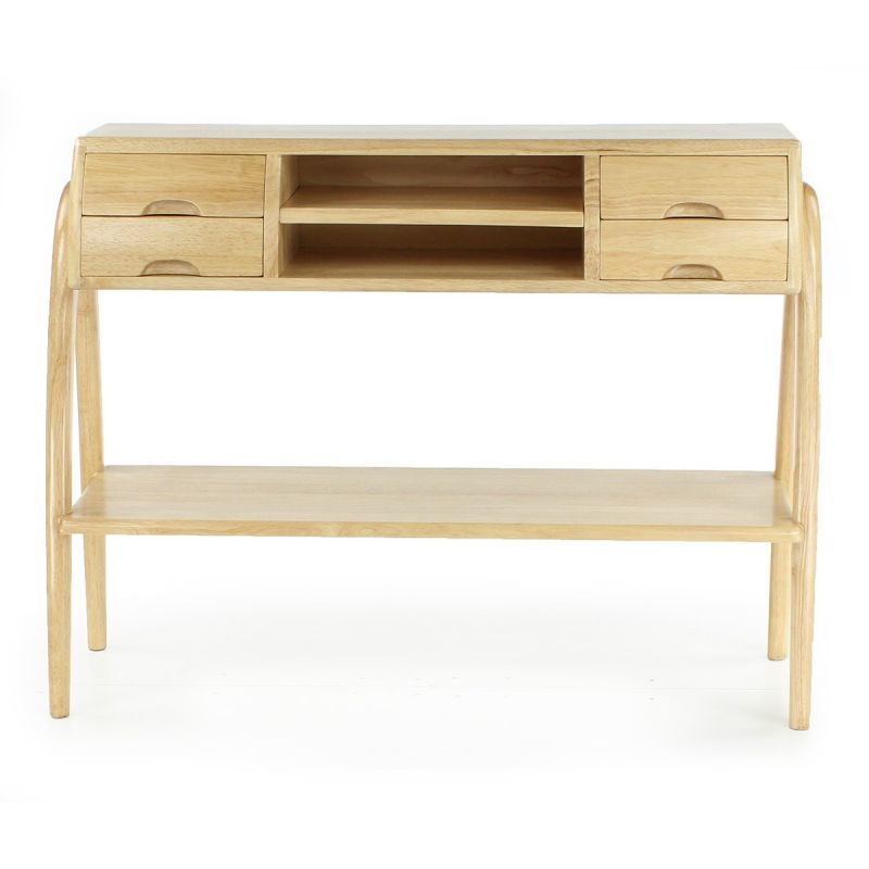 console en bois naturel orsay saulaie. Black Bedroom Furniture Sets. Home Design Ideas