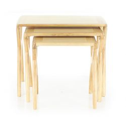 Tables gigognes bois naturel - Orsay