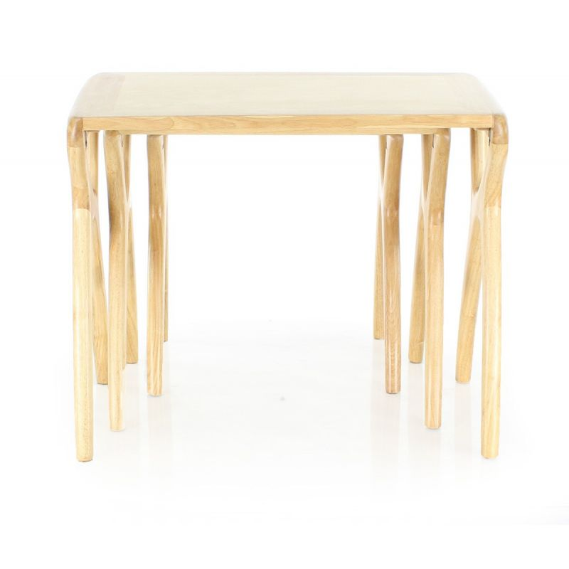 Table d 39 appoint scandinave orsay saulaie - Tables gigognes bois ...