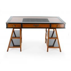 Wooden desk, navy style - Nelson